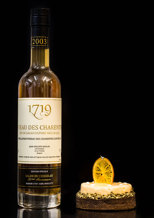 "Pineau des Charentes 2003 and the ""Tarte Sichuan"""